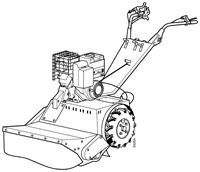 Faucheuses broyeuses (technique de coupe rotative)