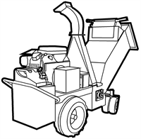 Schredders, Vacuum Collector, Strump grinder